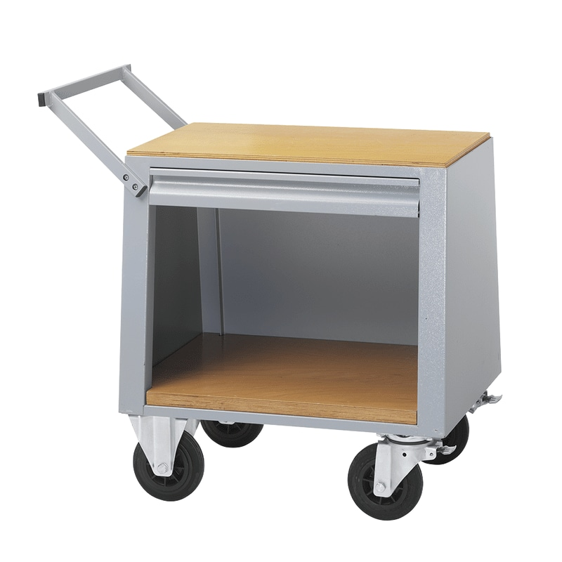Induction heater trolley
