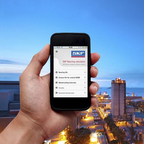 Applications mobiles SKF