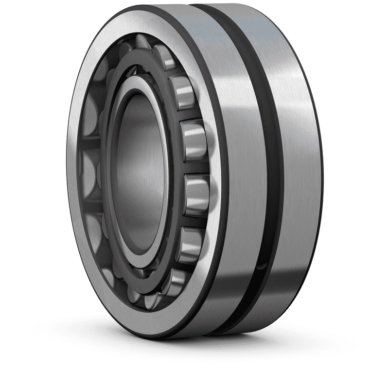 Spherical roller bearing for vibratory applications