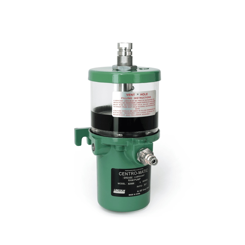 Single-line air-operated (single stroke) grease pump model 82886