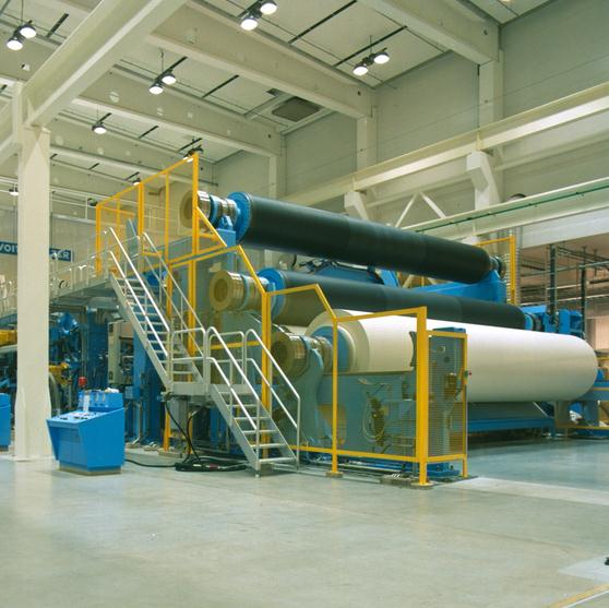 Paper machine finishing section