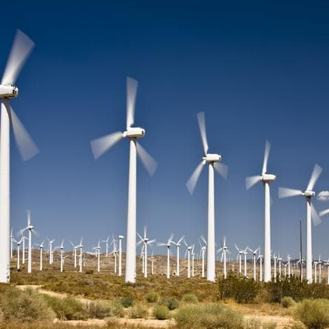 Industry image, wind farm