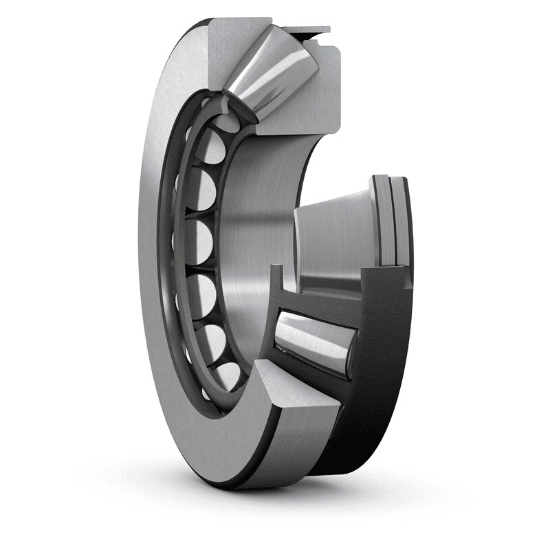 Spherical roller thrust bearing - cut open
