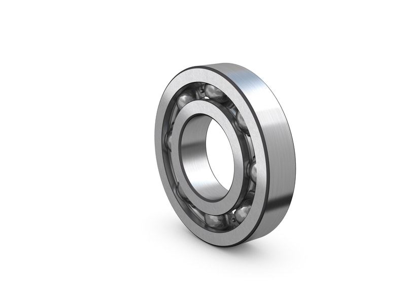 Single row deep groove ball bearings for tumble dryer drums image