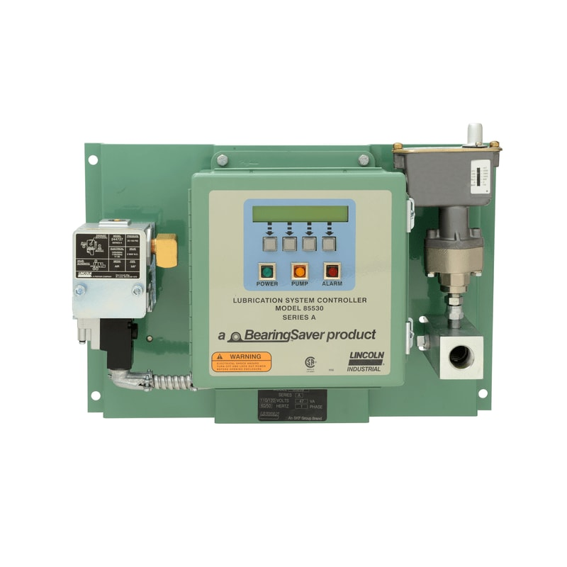 Single-line, panel mounted pneumatic control system model 85209