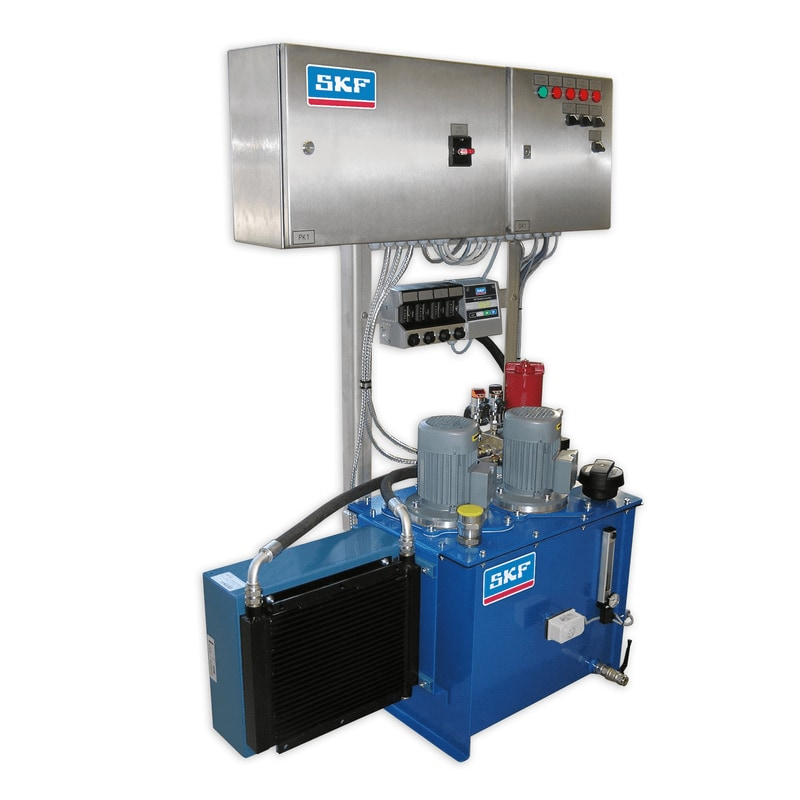 SM-100 is a complete small oil circulation system