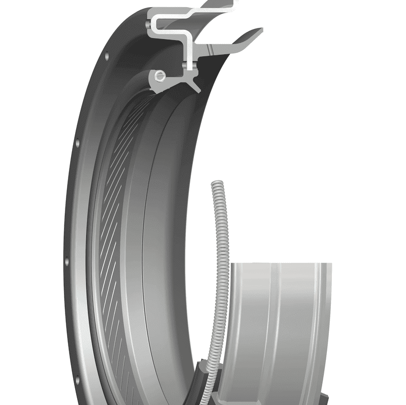 Pinion seal for light duty applications