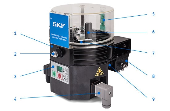 Skf Multi Point Automatic Lubricators