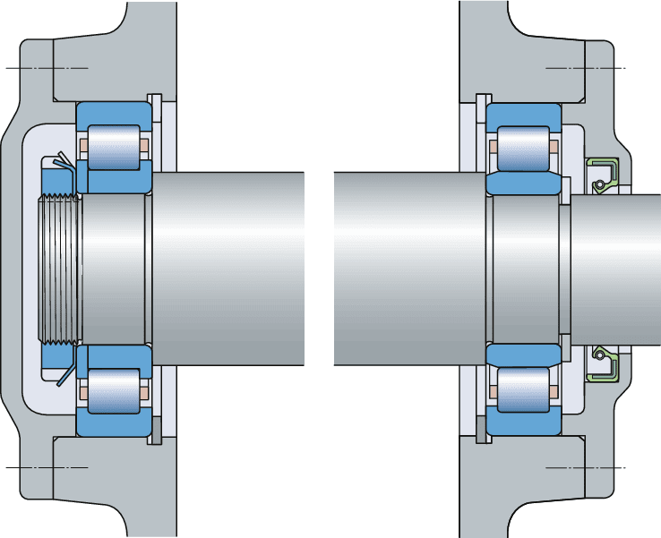 Arrangements and their bearing types