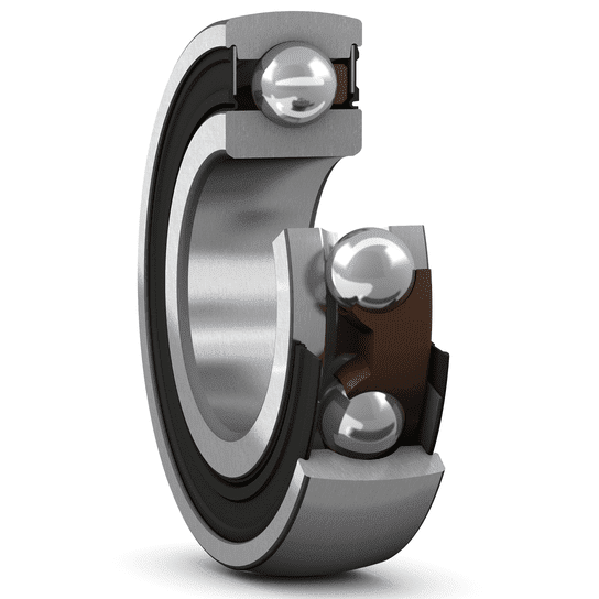 Insert bearing with a standard inner ring