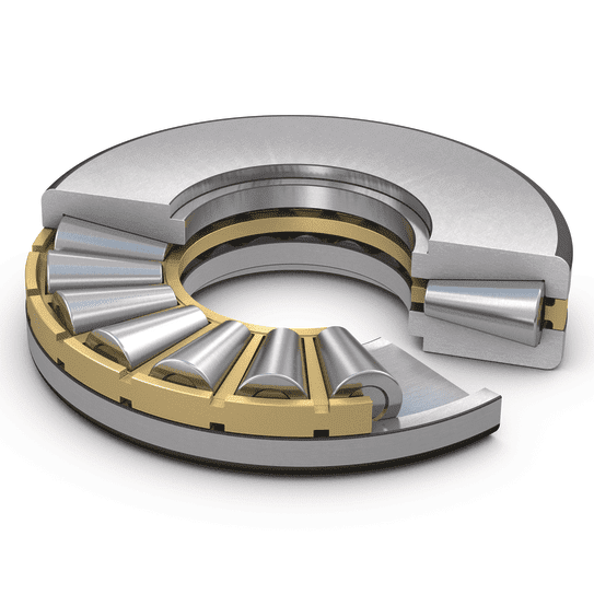 SKF single direction tapered roller thrust bearing, symmetrical washers