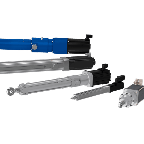 High Performance actuator family range