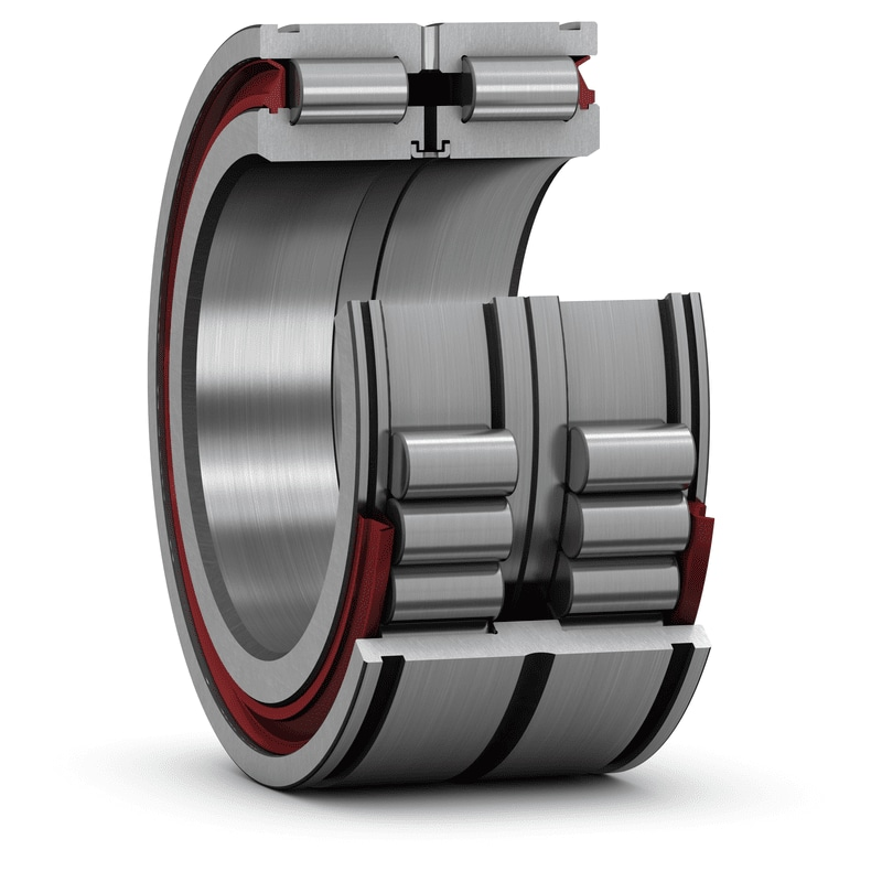 Double row full complement cylindrical roller bearings