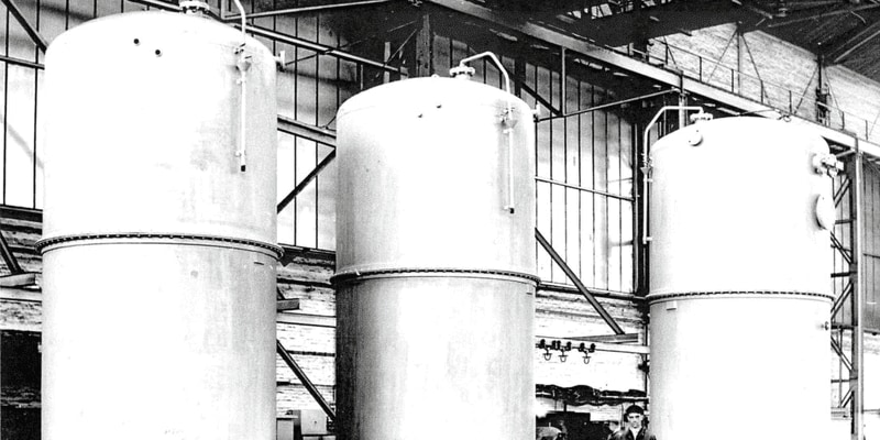 Turbulo Historical oily Water separators