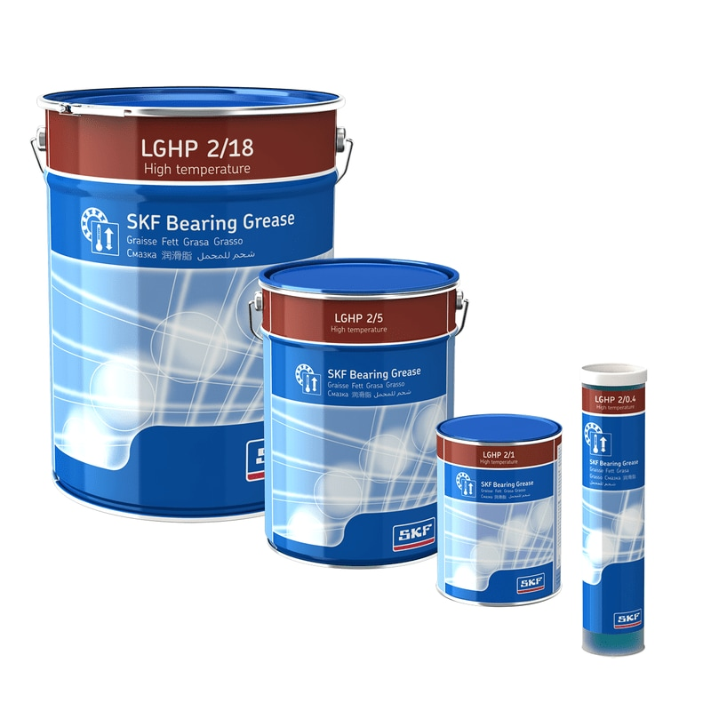 SKF High Performance, High Temperature Bearing Grease LGHP 2