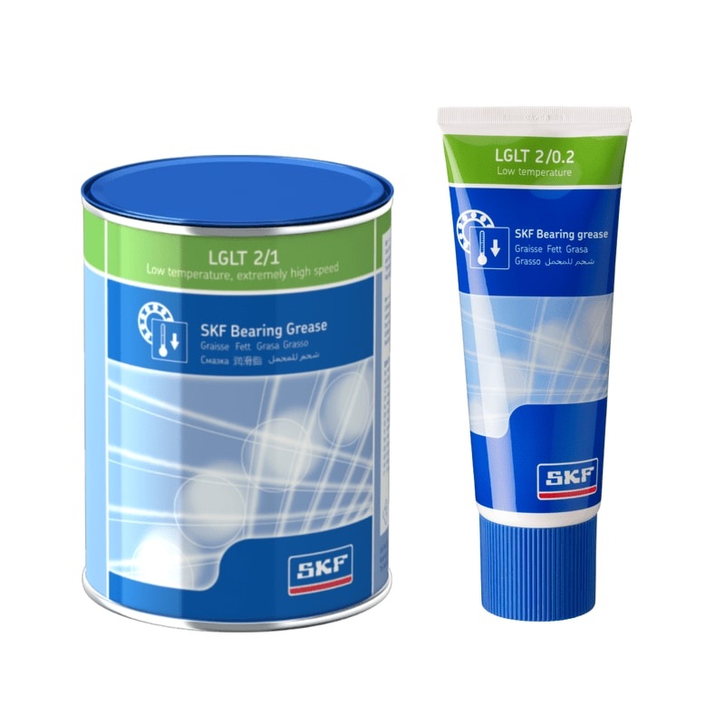 LGLT 2 SKF low temperature, extremely high speed bearing grease