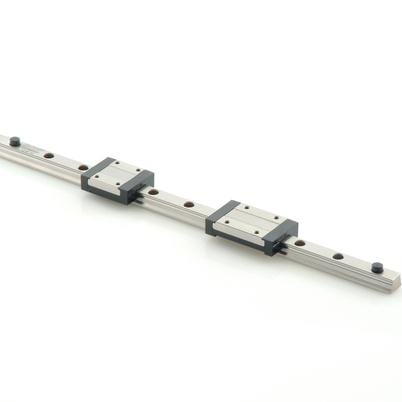 Miniature profile rail guides