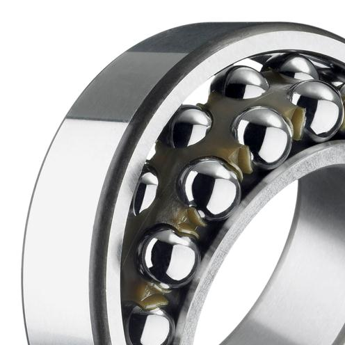 Self-aligning ball bearing