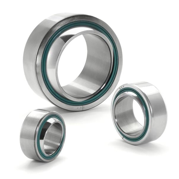 Lubrication-free radial spherical plain bearings, TX design