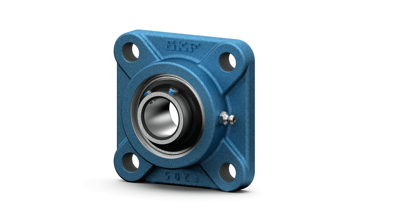 SKF insert bearing square flanged units UC range