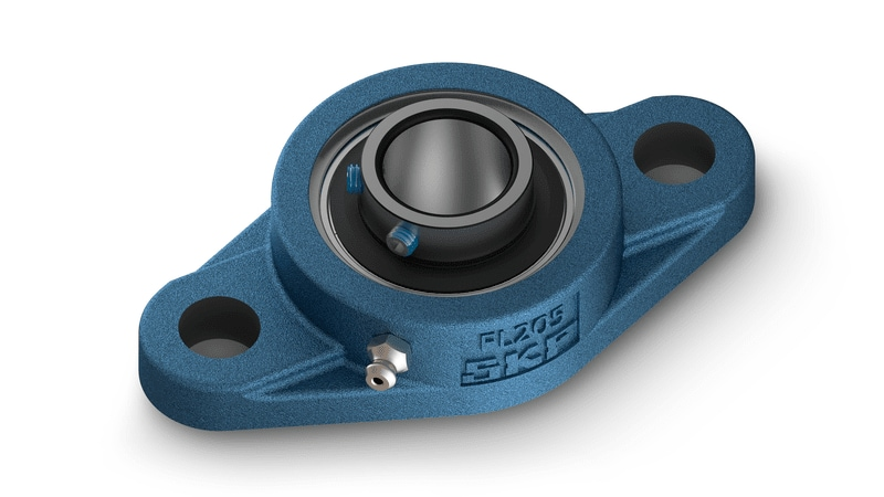 SKF insert bearing oval flanged units - UC range