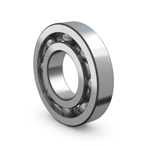 Deep groove ball bearing open with steel cage(1)