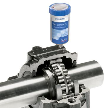 SKF single point automatic lubricators
