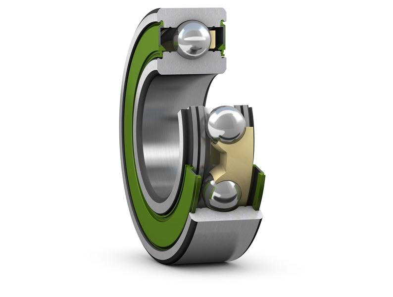 SKF Sealed Energy Efficient deep groove ball bearing_Cut away