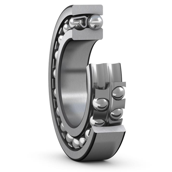 Self-aligning ball bearings for supercalenders