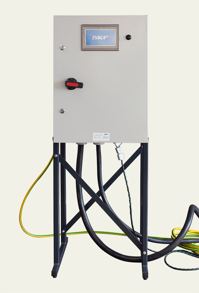 Control cabinet for Fixed induction heaters EAZ series