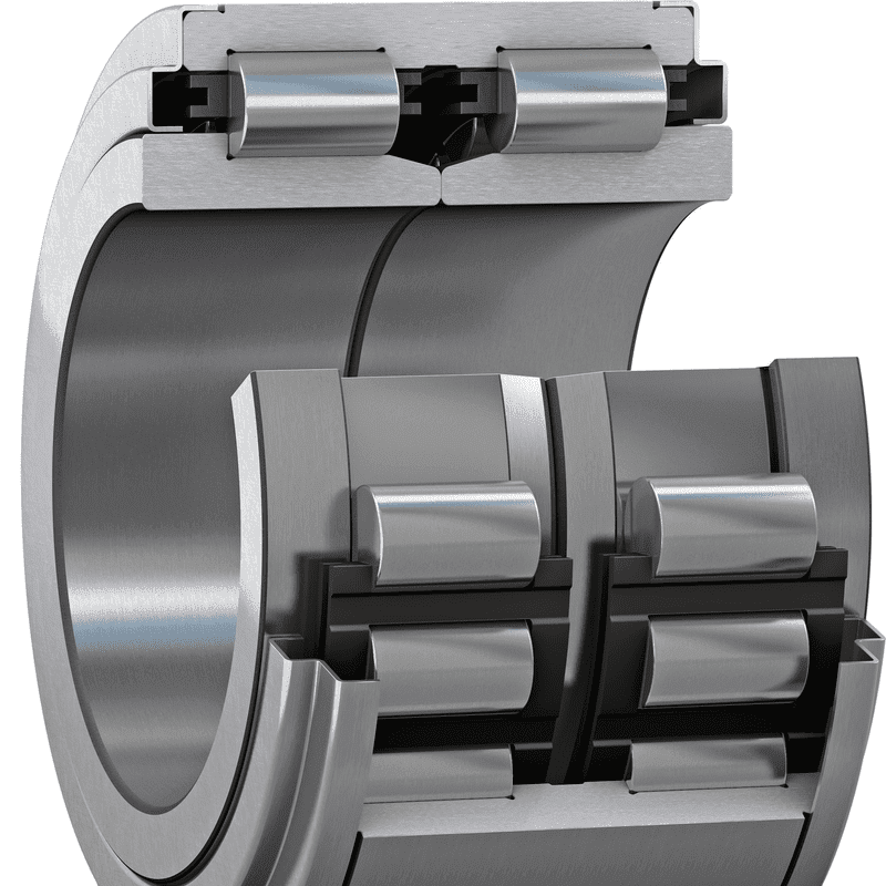 Cylindrical roller unit