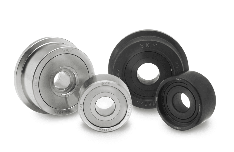 Wafer unit bearings