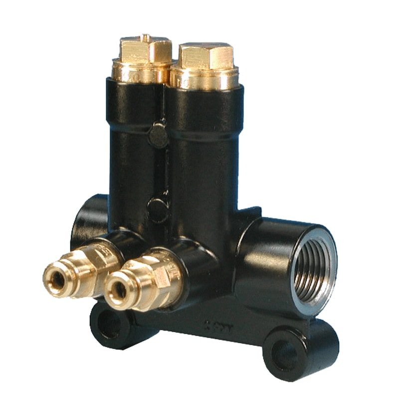Re-lubrication metering devices