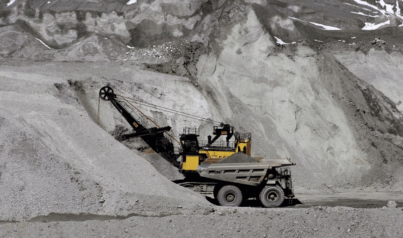The FK pump can be used for heavy equipment like crushers
