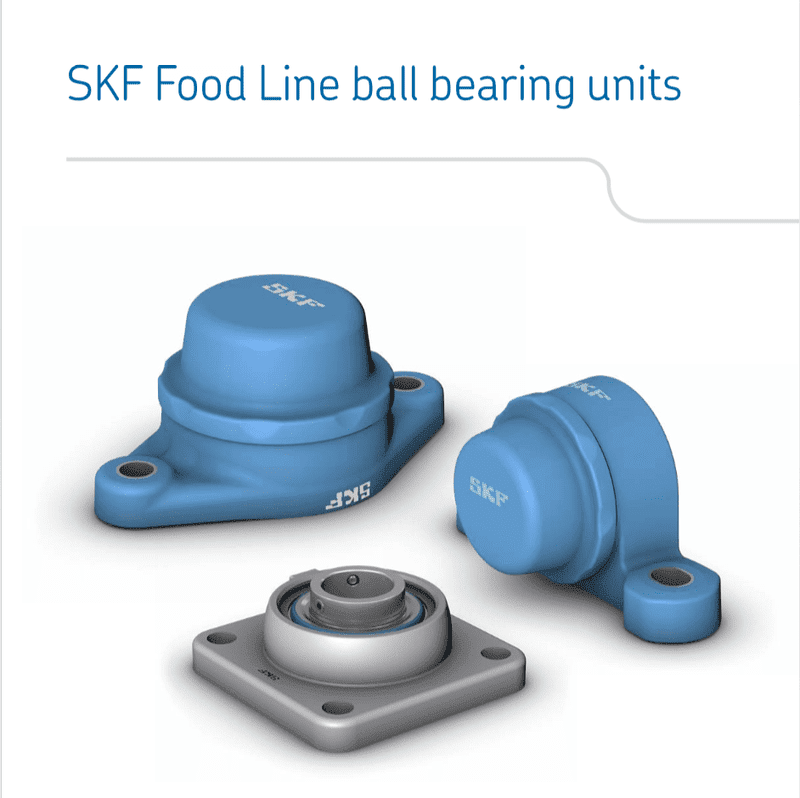 SKF Food line catalogue cover