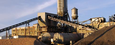 Mining, Mineral Processing and Cement industries
