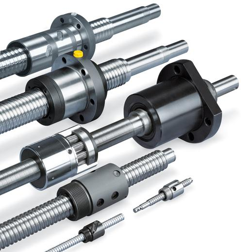 Ball and roller screw range