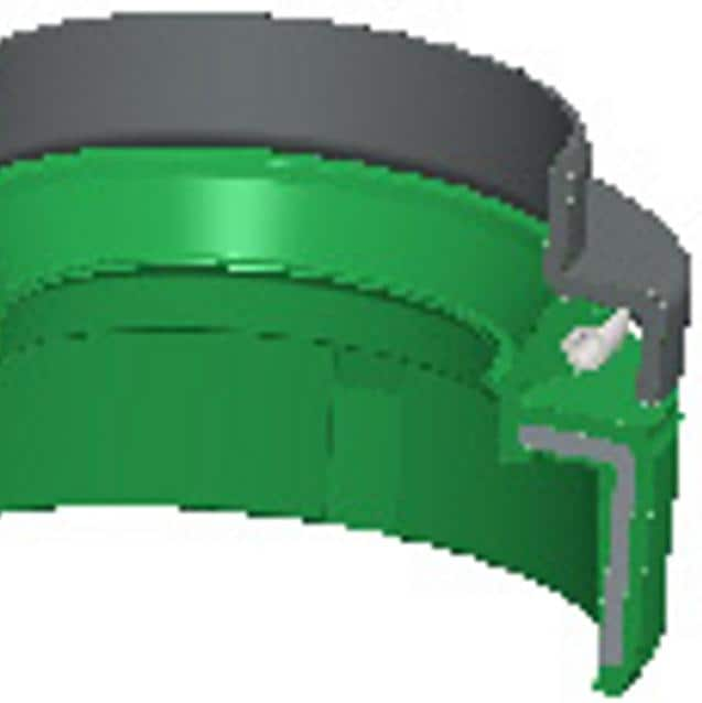 Rubber axial seal for drum image