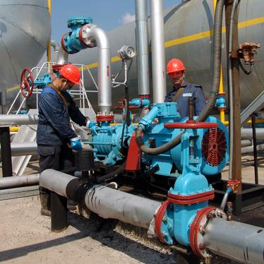 pump installation