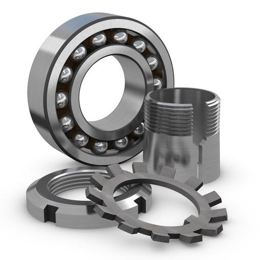 Kit of self-aligning ball bearings