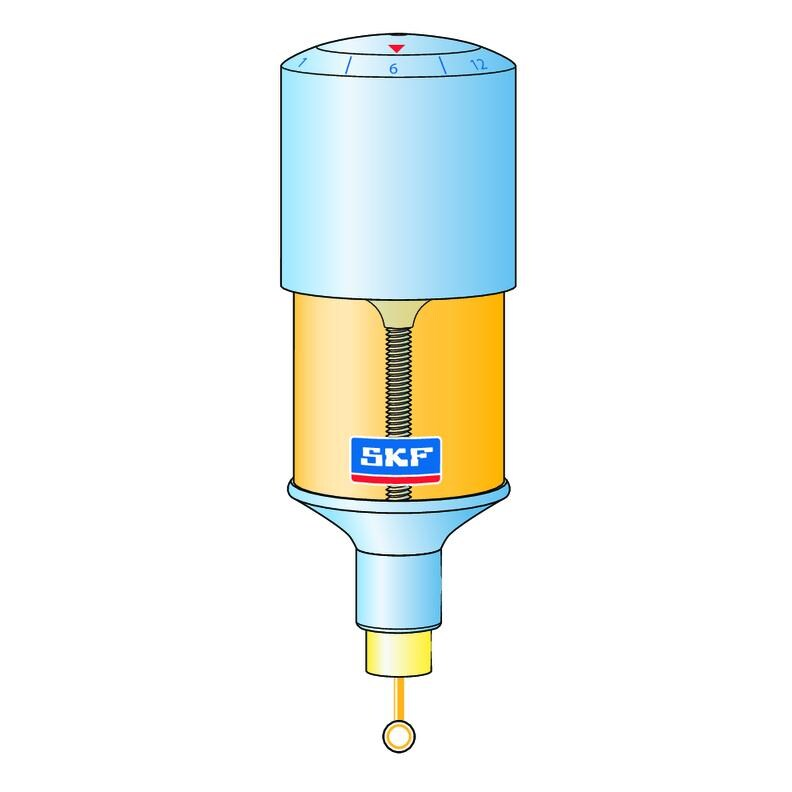 Single-point automatic lubricators