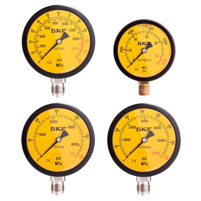 SKF Pressures Gauges