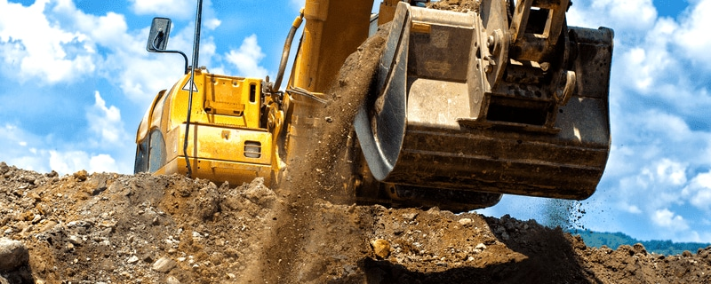 Automatic lubrication systems for construction machines