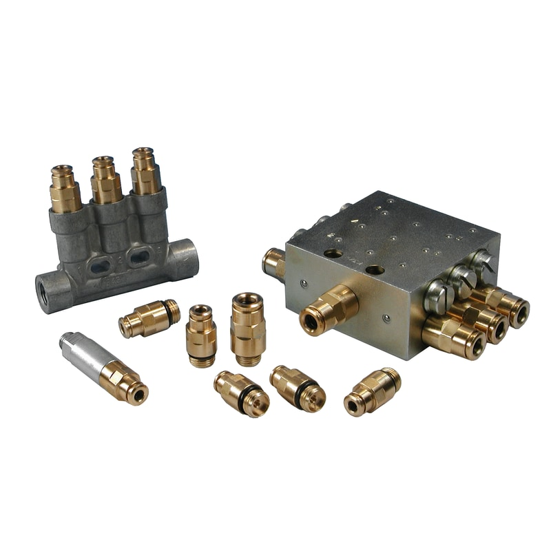 quick connectors and distributors