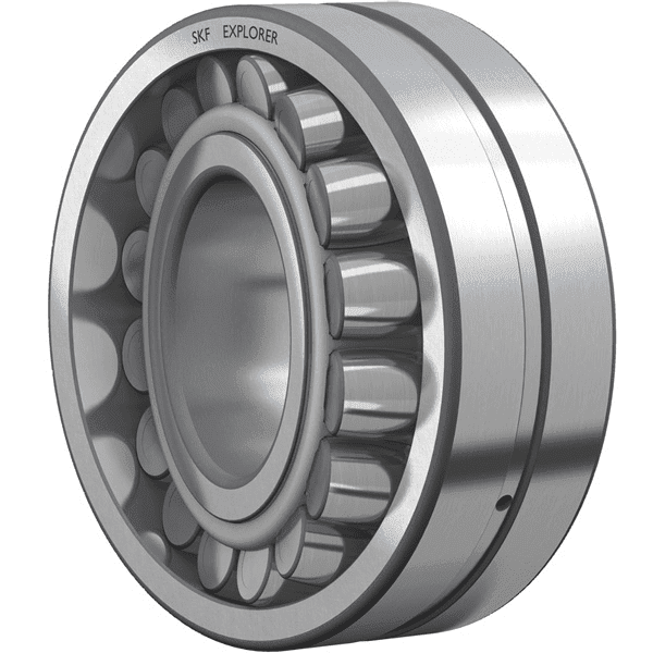 High speed, precision bearings for deflection compensating rolls