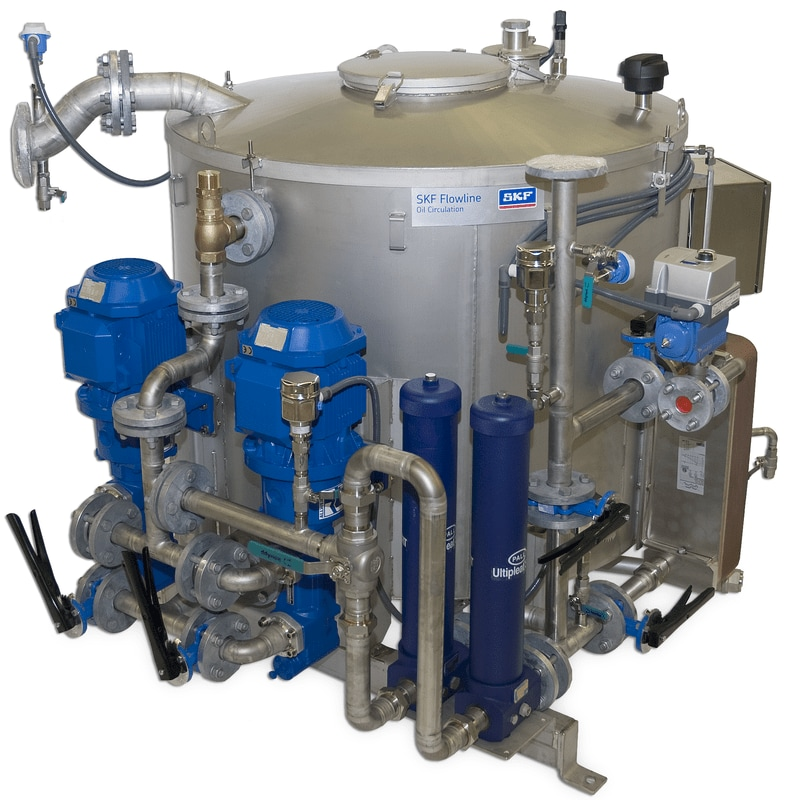 A range of custom, circulating oil lubrication system solutions