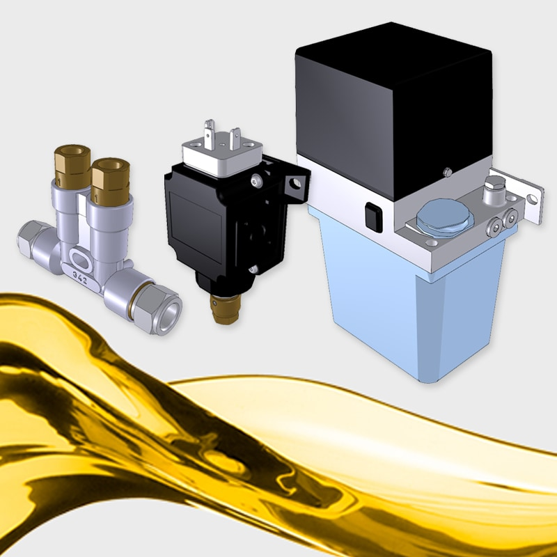 SKF Lubrication Systems CAD models