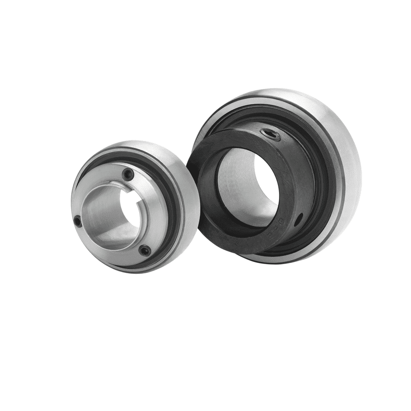 Insert bearing for agricultural applications