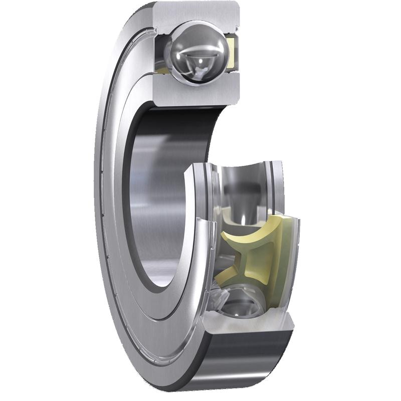 Low friction SKF Explorer deep groove ball bearings