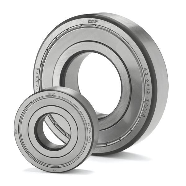 Sealed and shielded bearings